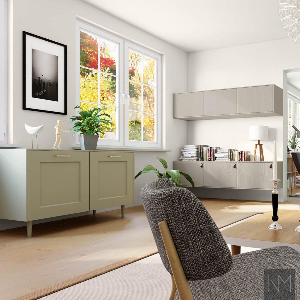 Ideen für die Inneneinrichtung des Wohnzimmers - Machen Sie es etwas heller