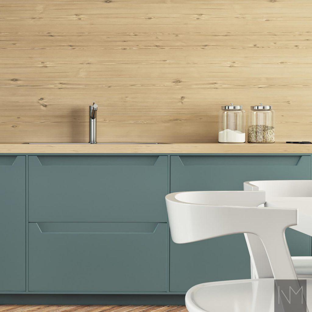 Küchenschränke Design - Möbelanordnung in einer kleinen Küche