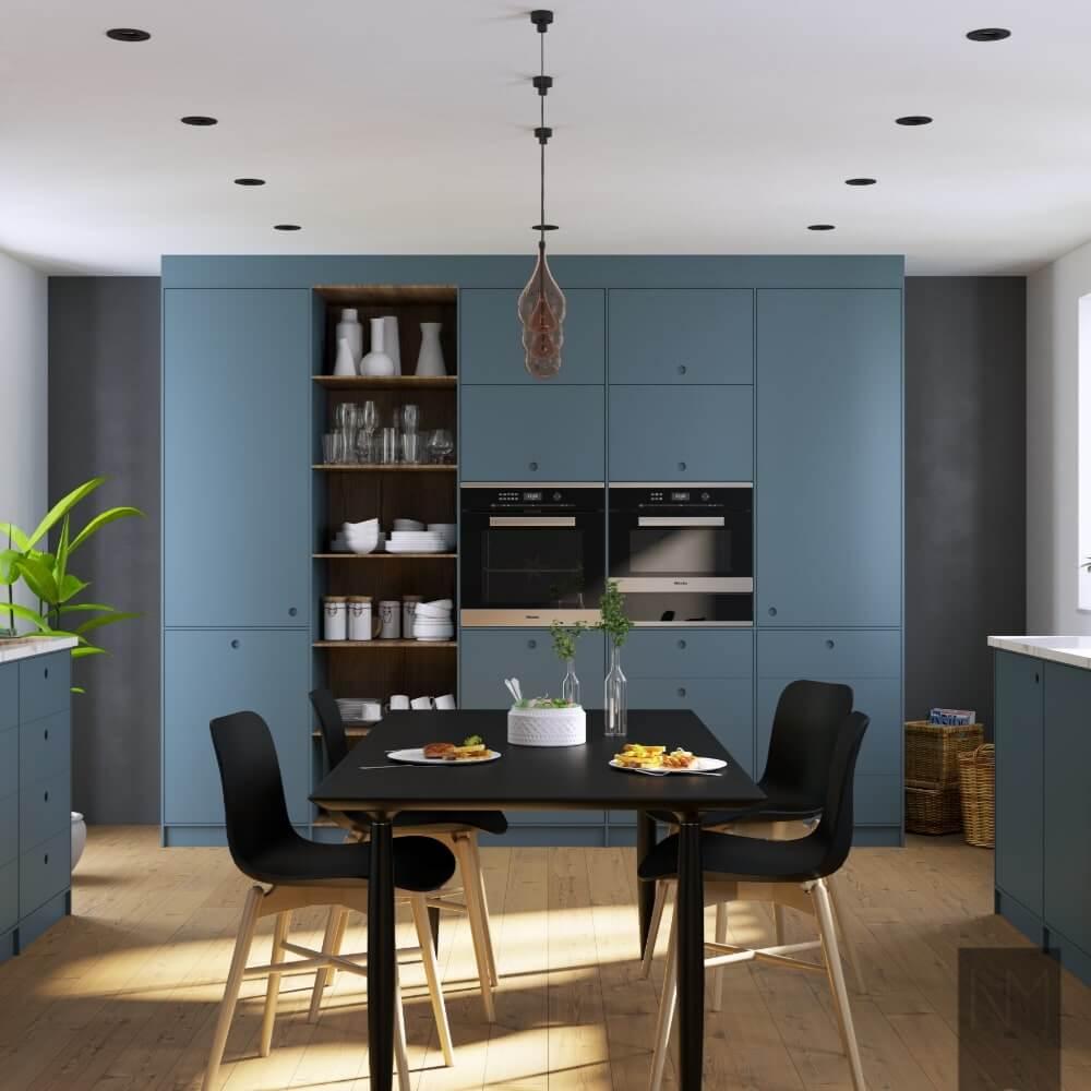 Ideen für die Inneneinrichtung des Wohnzimmers - Ausstattung eines Wohnzimmers mit einer Küche