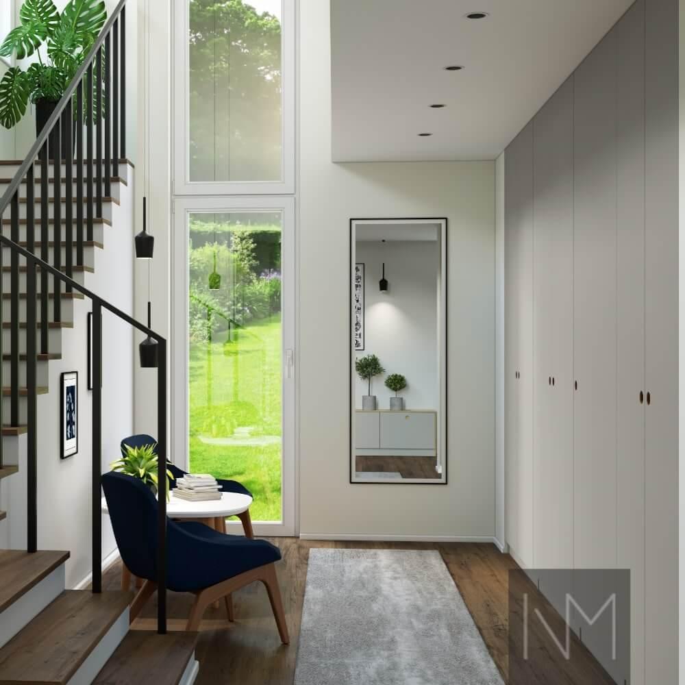 Innendesign eines kleinen Hauses - Sehen Sie Ihre Spiegelung
