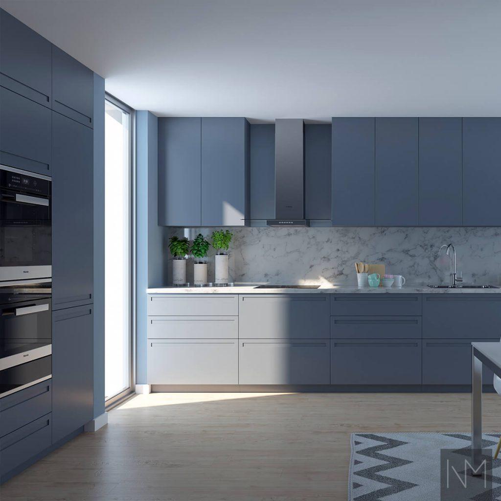 Küchendesign-Ideen - 50 Schattierungen von... einer Farbe