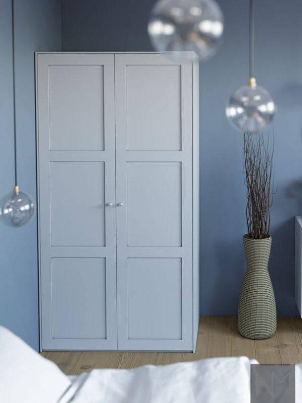 Fronten für IKEA PAX-Kleiderschrank. Farbe NCS S2500-N
