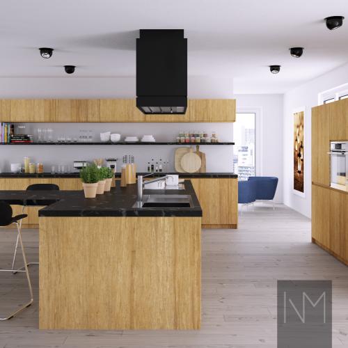 Bamboo IKEA kitchen
