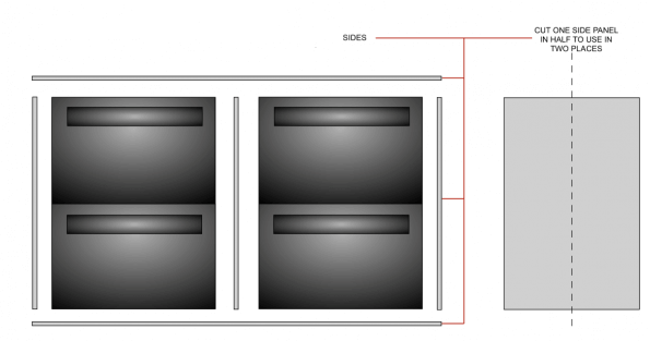 INFRAME IKEA kitchen fronts