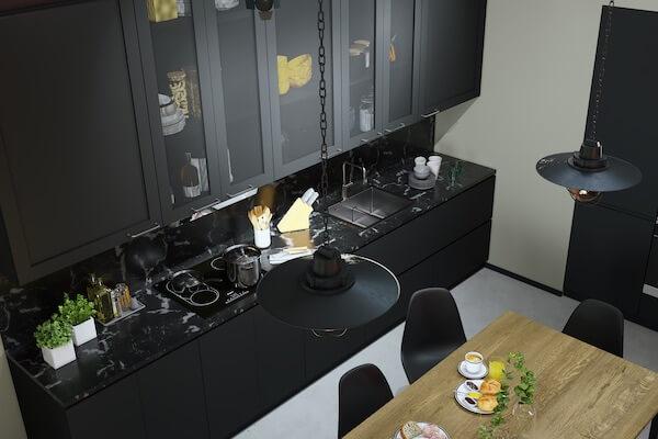 Mesh-Küchenfronten für IKEA
