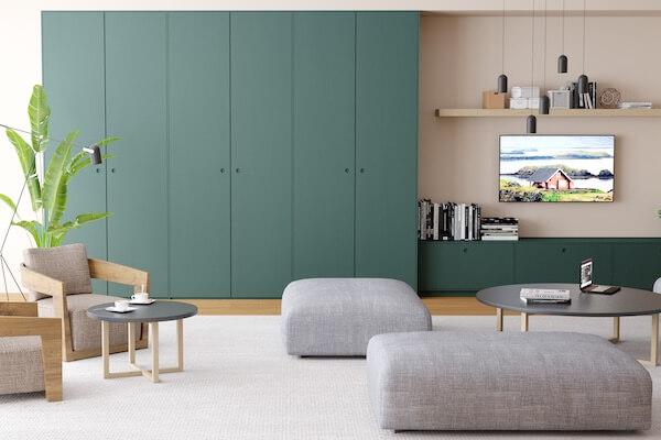Fronten für IKEA-Garderobe