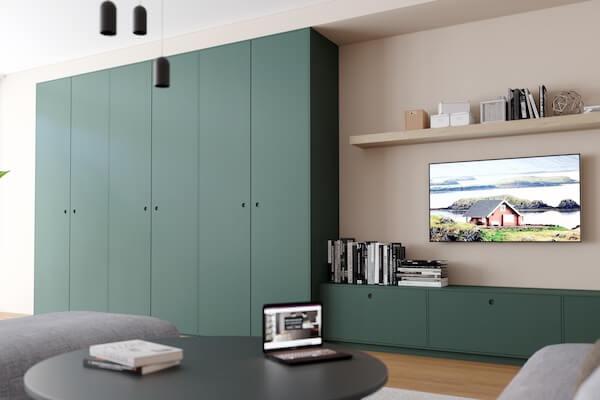 Nordic+-Fronten für IKEA-Garderobe