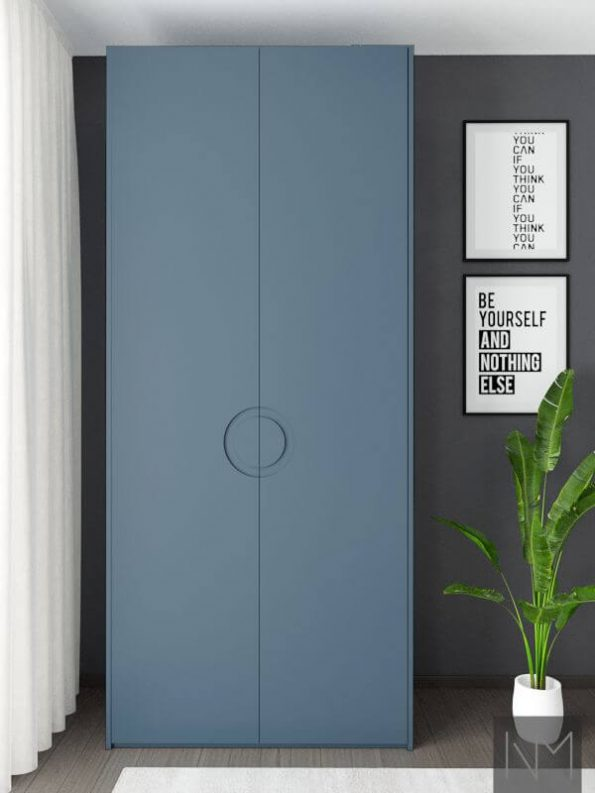 Ikea Pax Wardrobe Moon STIFFKEY BLUE FARROW BALL