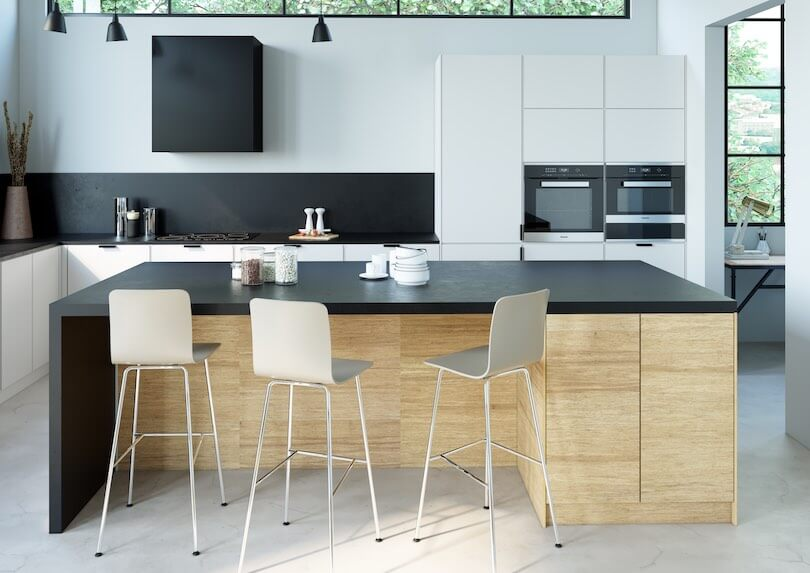 Bamboo+ kitchen fronts for IKEA