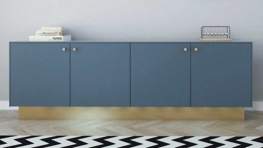 Jotun Industrial Blue 5455 Handle: Umbrella Brass