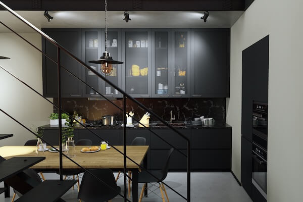 Mesh kitchen fronts for IKEA