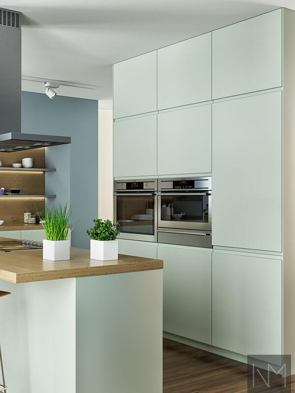 Keuken Zonder Handgrepen Metod Keuken Verbetert Uw Keukenruimte