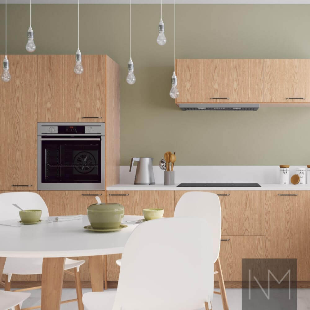 Nordic Basic Kitchen with white furniture