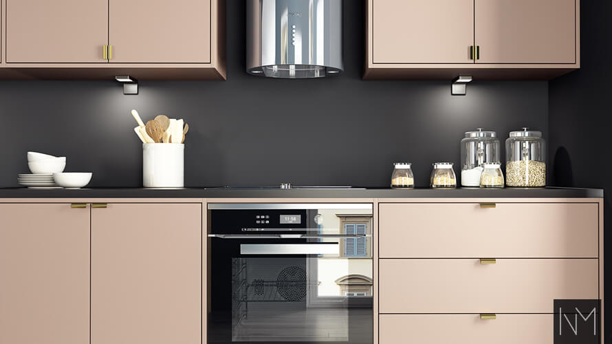 In frame Kitchen design