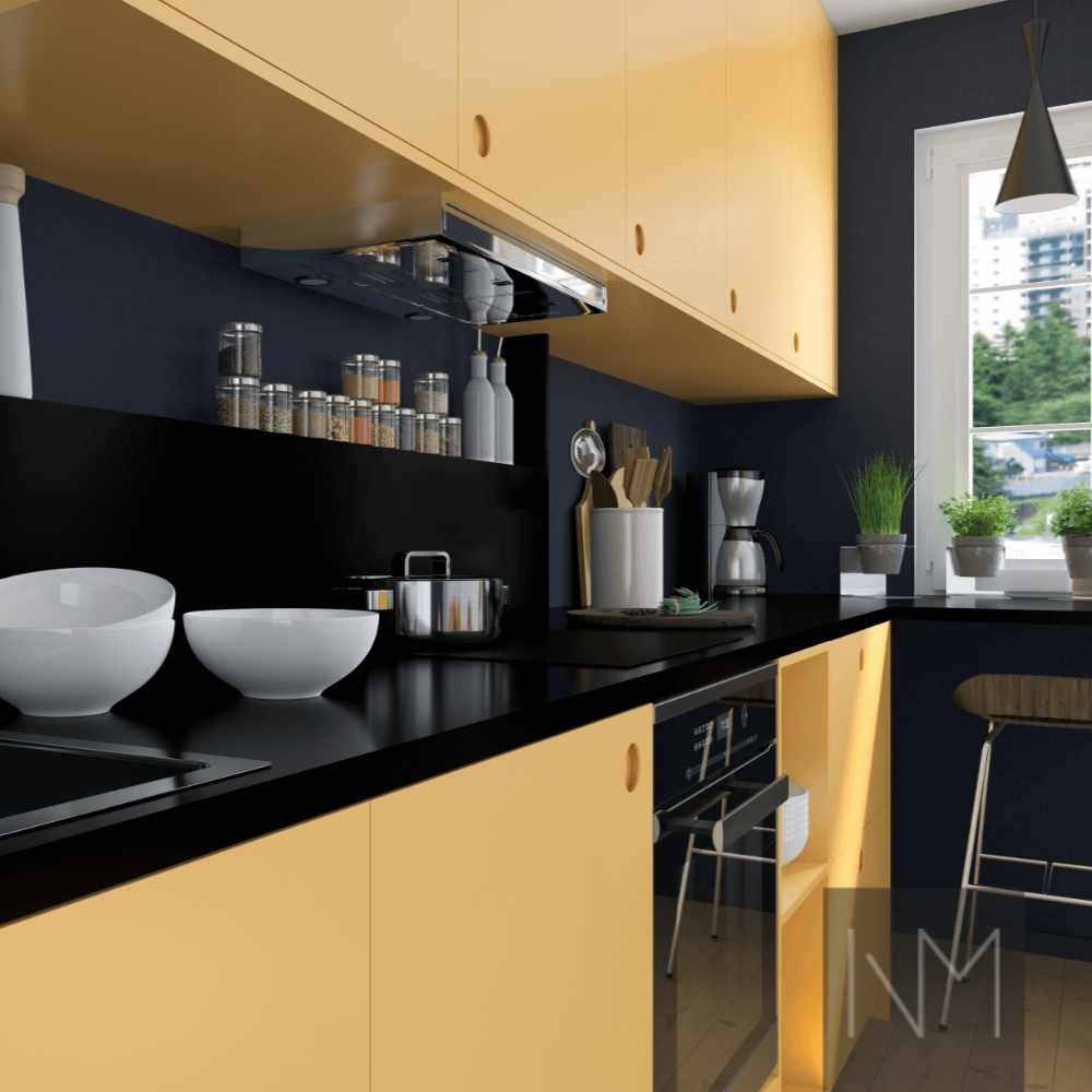 Farrow Ball Kitchen Sudbury Yellow