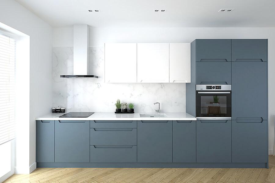 Elegance i farge INDUSTRIAL BLUE 5455