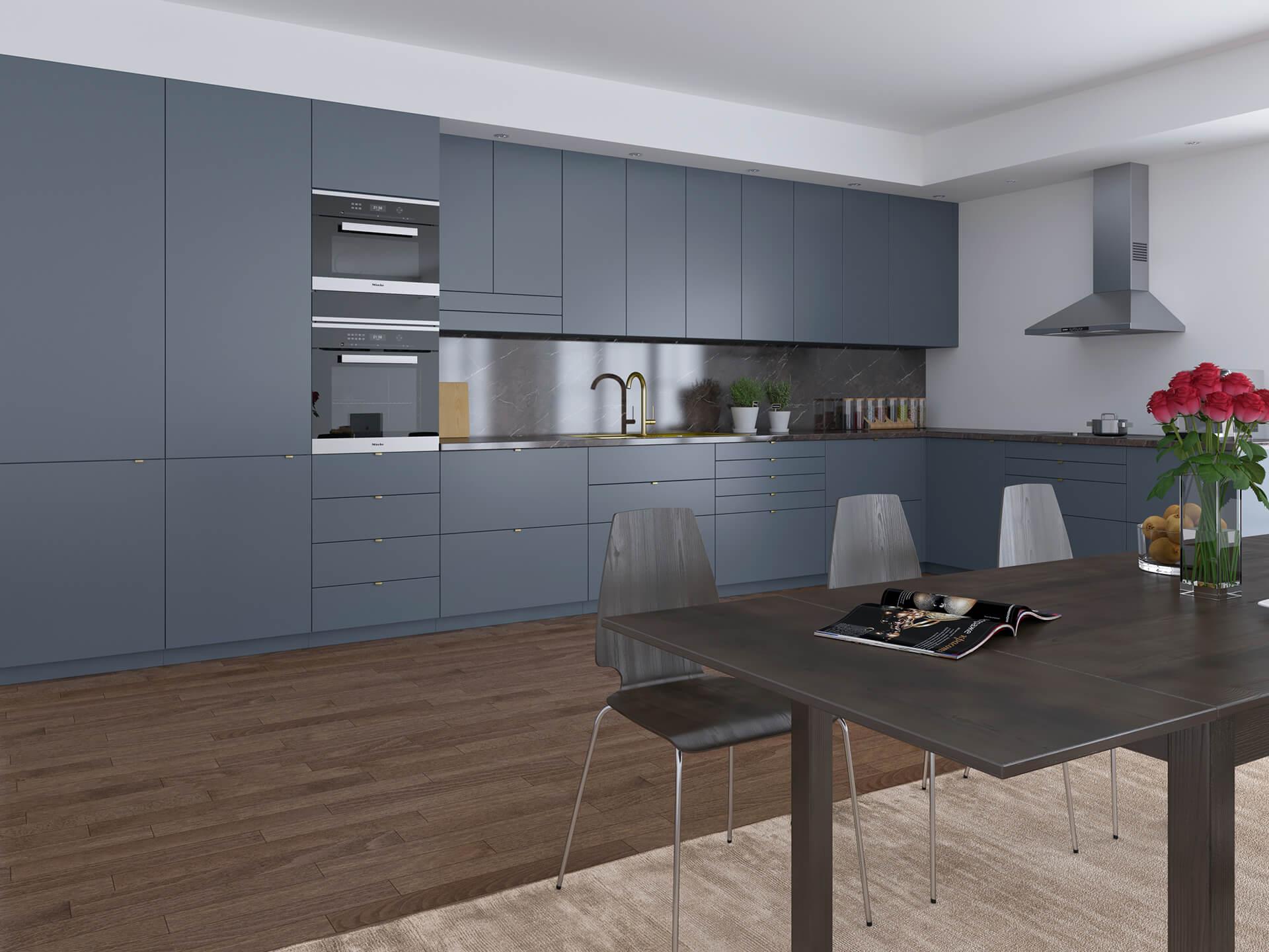 Basic i farge Deco blue S7010-R90B