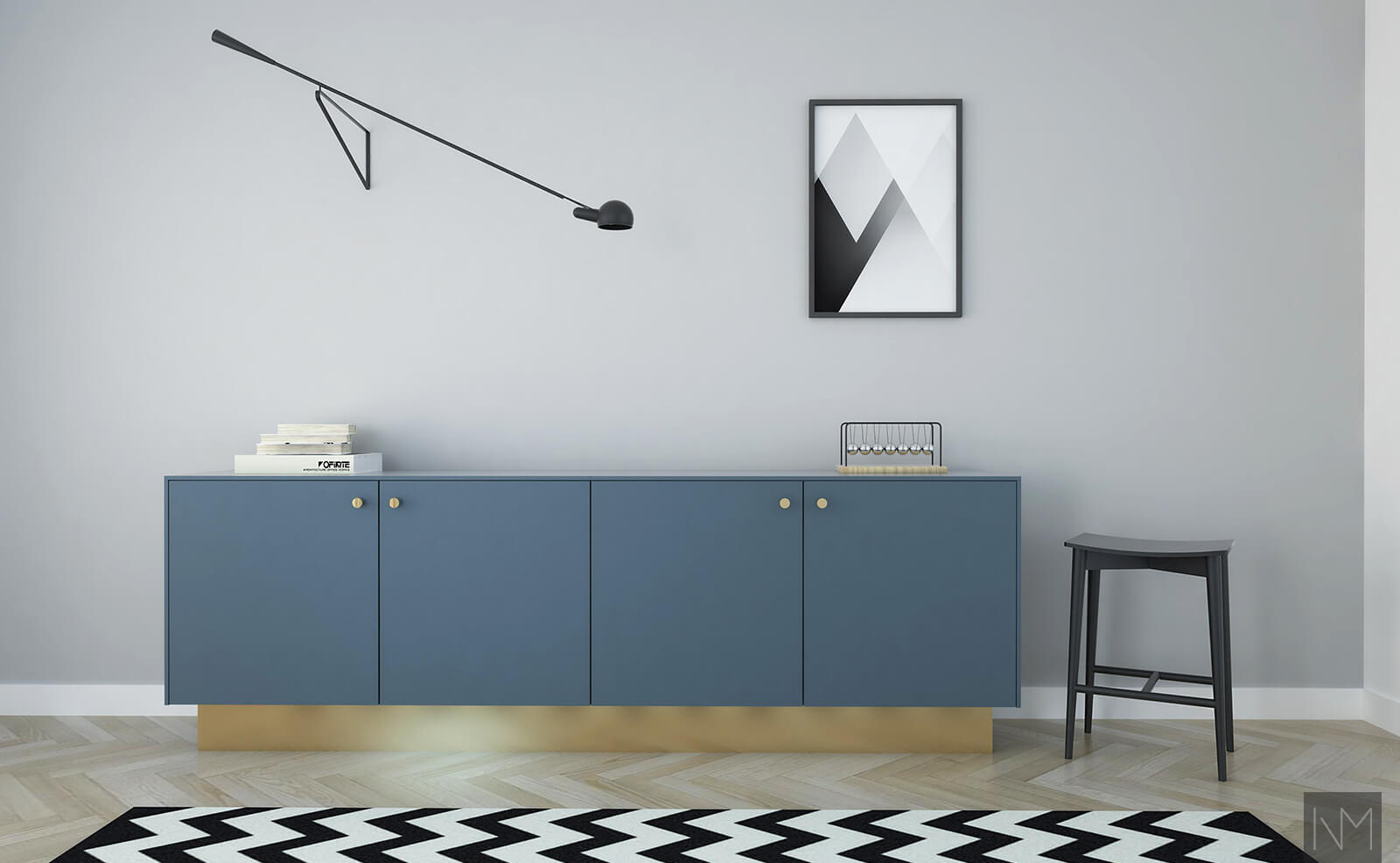 industrial blue. NSC 6416-B02G.