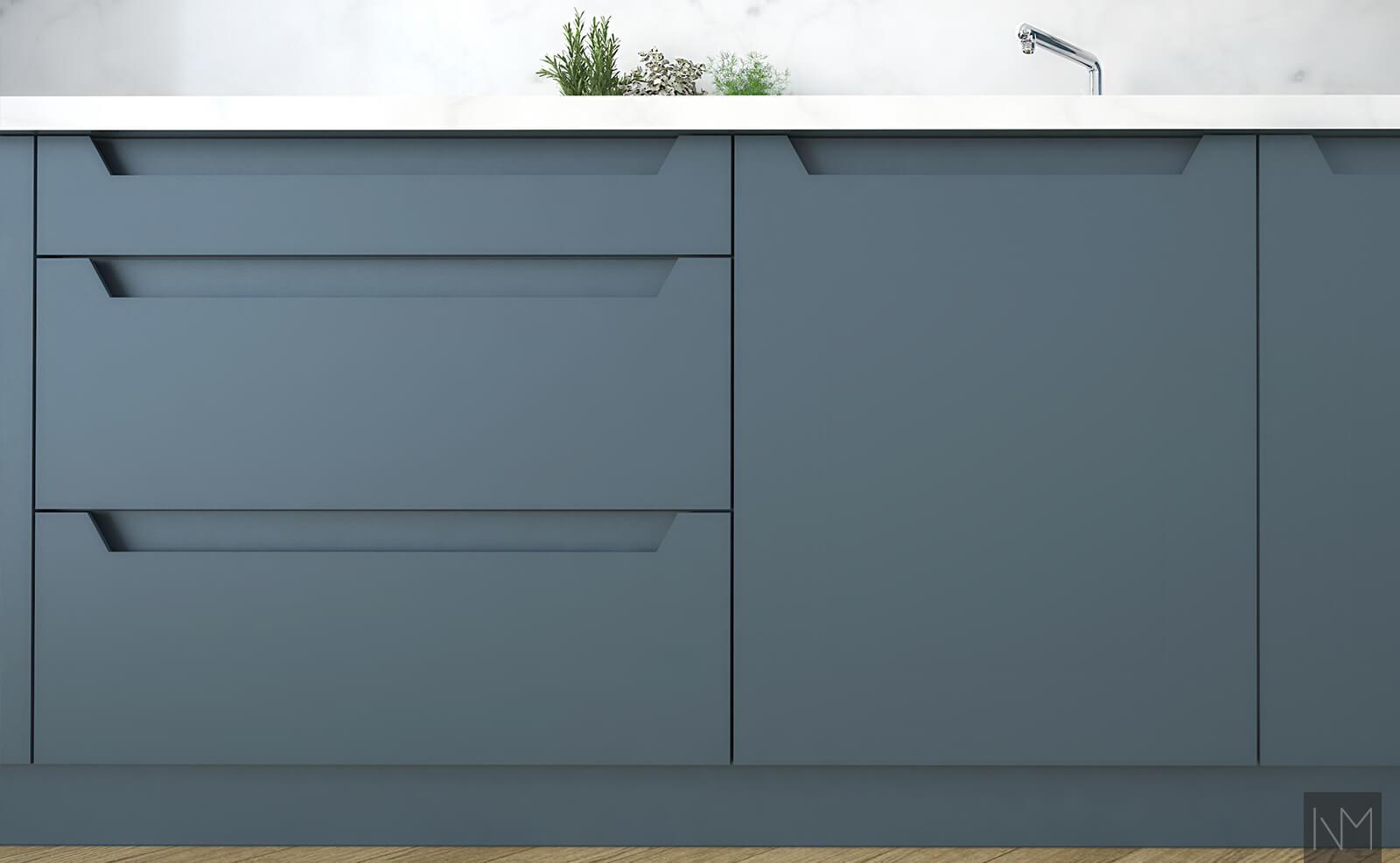 ELEGANCE - INDUSTRIAL BLUE 5455 - S 0500-N