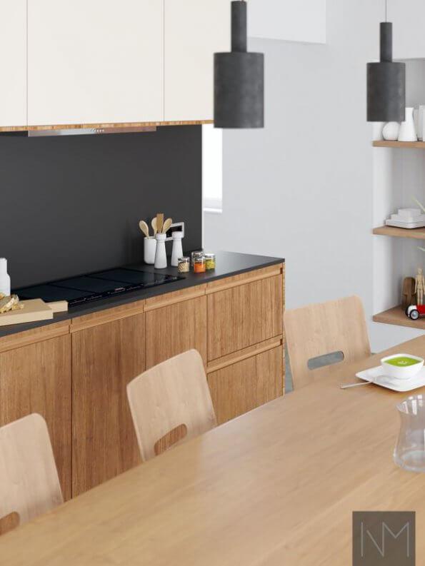 IKEA Metod Bambus Kjøkken Fronter
