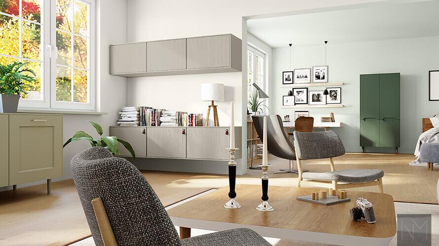 Bilde av en stue