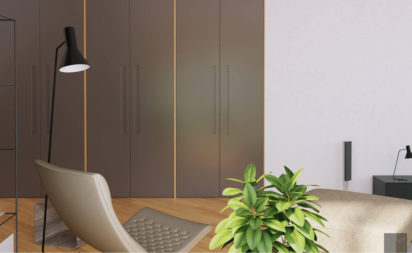 Fronter til PAX garderobe fra IKEA. ONTIME design