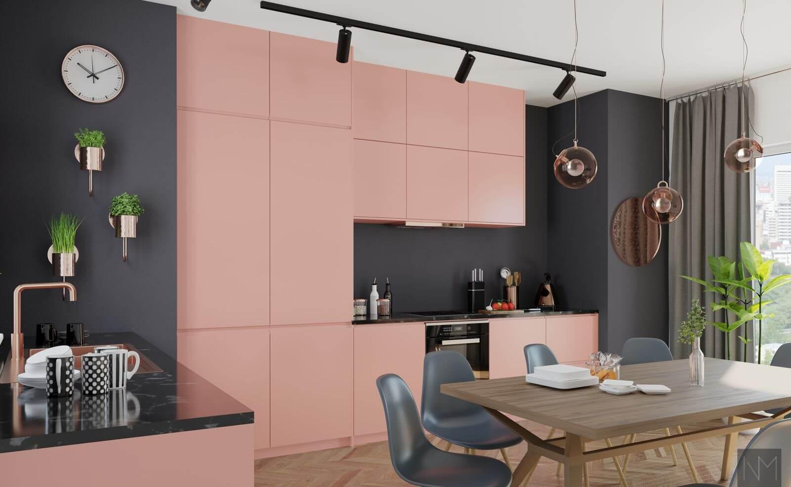 Design dører til IKEA kjøkken. INSTYLE. NCS S2020-Y90R