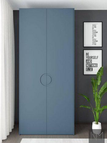 Ikea Pax Garderobe Moon STIFFKEY BLUE FARROW BALL